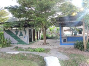 Swimmingpoolen hos eller tæt på Spicy Pai Backpackers