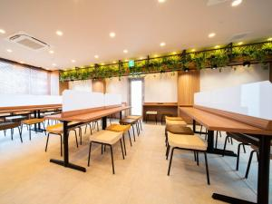 A restaurant or other place to eat at Super Hotel Hamamatsu