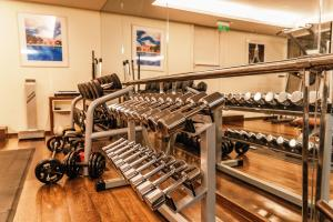 The fitness center and/or fitness facilities at Copacabana Palace, A Belmond Hotel, Rio de Janeiro
