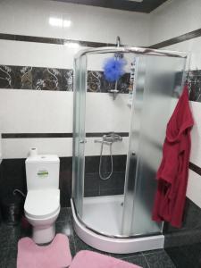 Um banheiro em Orkhan's Guest House