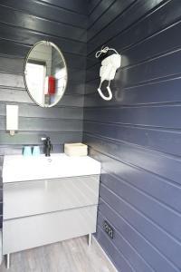 Een badkamer bij B&B Kuai Brugge
