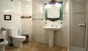 A bathroom at Casa Jacobea
