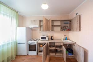 Кухня или мини-кухня в Апартаменты «Albergo»