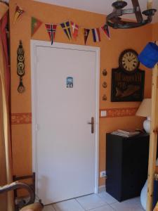 Salle de bains dans l'établissement Le Relais de Montchat