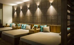 Ein Bett oder Betten in einem Zimmer der Unterkunft Valamar Argosy Hotel