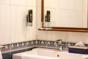 A bathroom at Hotel-Restaurant Gulpenerland