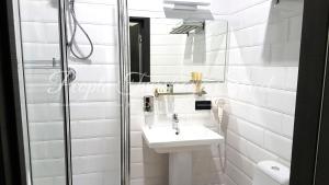 Ванная комната в Отель PEOPLE Тверская Стрит