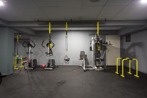 The fitness center and/or fitness facilities at Athina Airport Hotel