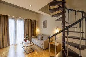 Гостиная зона в Domotel Anemolia Mountain Resort