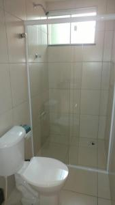 A bathroom at Pousada Recanto de Fátima