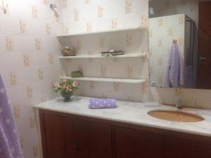 Um banheiro em Porto de Galinhas Hostel