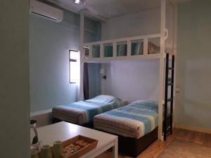 A bunk bed or bunk beds in a room at Langkawi Dormitorio