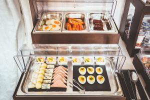 Možnosti raňajok pre hostí v ubytovaní Penzión Hradbová