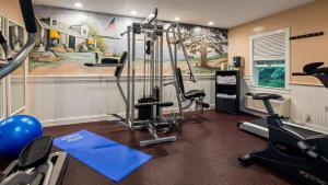The fitness center and/or fitness facilities at Best Western Plus Cold Spring
