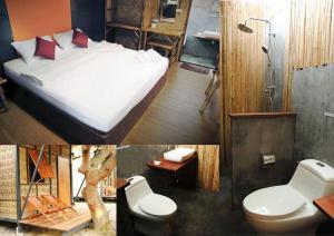A bathroom at Little Hut