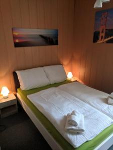 A bed or beds in a room at Hostel Schützenbrücke