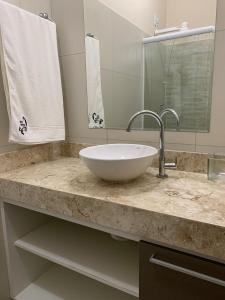 Um banheiro em Kite Apartment Cumbuco