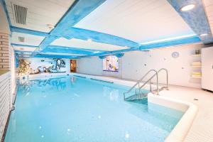 Der Swimmingpool an oder in der Nähe von Kur- und Wellnesshotel Förch