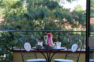 A balcony or terrace at Caserta Deluxe