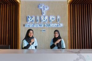The lobby or reception area at Mimpi Perhentian