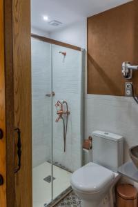 Ένα μπάνιο στο Villa Virginia Hotel