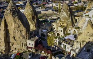 A bird's-eye view of Anatolian Houses Cave Hotel