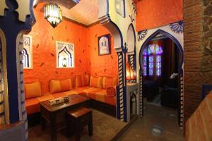 Zona de estar de Résidence Hoteliére Chez Aziz