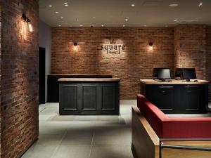 The lobby or reception area at the square hotel GINZA