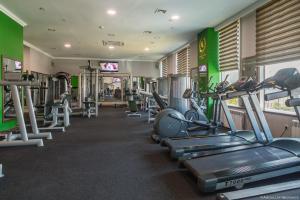 Фитнес-центр и/или тренажеры в Отель Грозный Сити