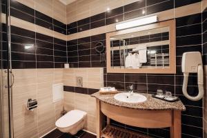 Ванная комната в Загородный отель forRestMix club
