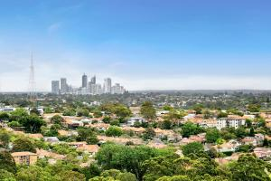 A bird's-eye view of Top Floor Penthouse Apartment Cremorne - SUTH2