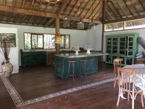 A kitchen or kitchenette at Villa Dedaren Bingin Beach