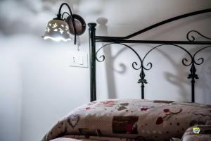Letto o letti in una camera di La linea dell'orizzonte