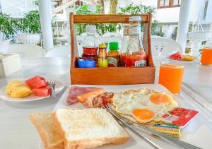 Frühstücksoptionen für Gäste der Unterkunft White House Bailan Resort