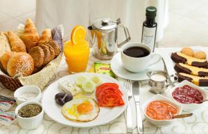 Επιλογές πρωινού για τους επισκέπτες του Minavra Hotel