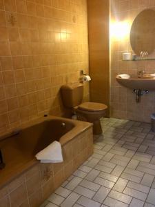 Ванная комната в Hotel La Venerie