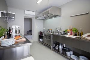 Reštaurácia alebo iné gastronomické zariadenie v ubytovaní Villa Paulina