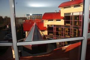 Балкон или терраса в Олимп Отель