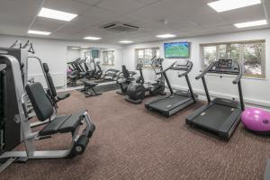 The fitness center and/or fitness facilities at Aubrey Park Hotel