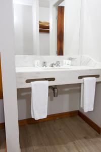 Um banheiro em Di Giulio Hotel