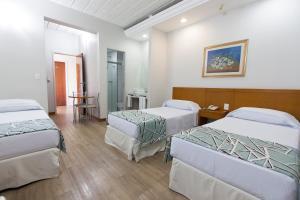 Cama ou camas em um quarto em Di Giulio Hotel