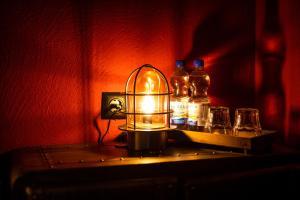 Getränke in der Unterkunft Engel Hotel + Diner