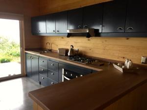 A kitchen or kitchenette at Casa La Trafa
