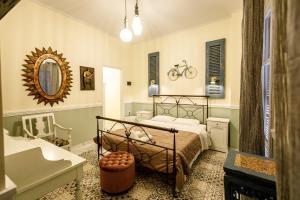 A bathroom at Acronafplia Pension B&D