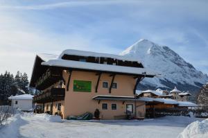 Ostbacher Stern in de winter