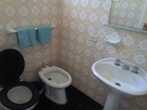 Un baño de Hotel Novo Siena