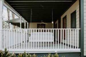 A balcony or terrace at Mouton Plantation