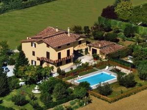 Agriturismo Il Girasole Assisi с высоты птичьего полета