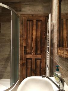 Koupelna v ubytování Privat 66