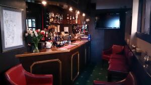 The lounge or bar area at The Quorn